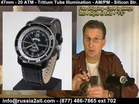 Caspian Sea Monster Wrist Watches - Episode 13 - Watch Komrade Show
