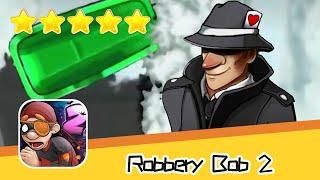 Robbery Bob 2 Pilfer Peak 14 Walkthrough Secret Agent Suit Recommend index five stars