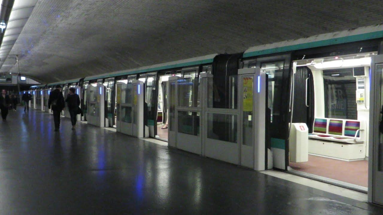 Paris m tro 1 porte de vincennes youtube - Station total porte d italie ...