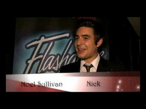 Noel Sullivan and the cast of Flashdance The Musical