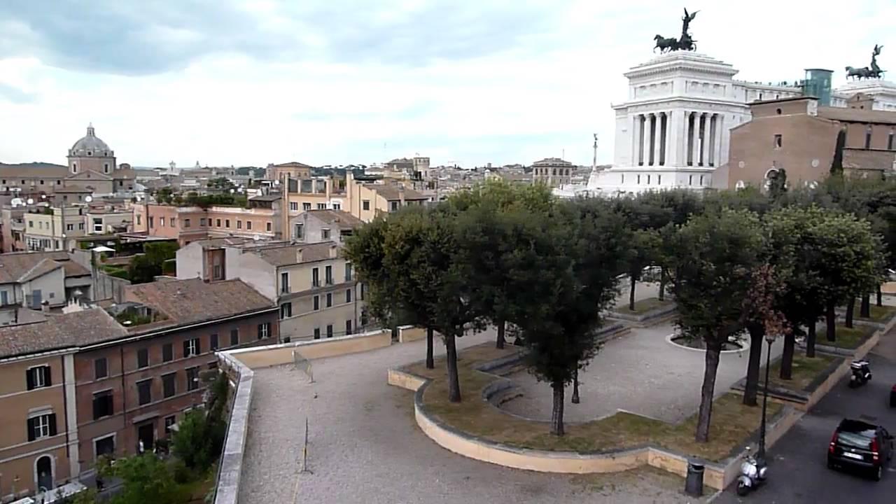 Vista Da Piazzale Caffarelli Youtube