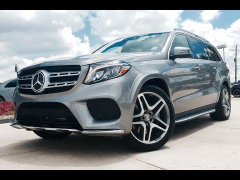 2017 Mercedes Benz Gls Cl Gls550 4matic Full Review Exhaust Start Up You