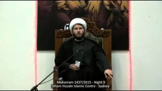 Sheikh Hamza Sodagar - Muharram 2015 - Night 9