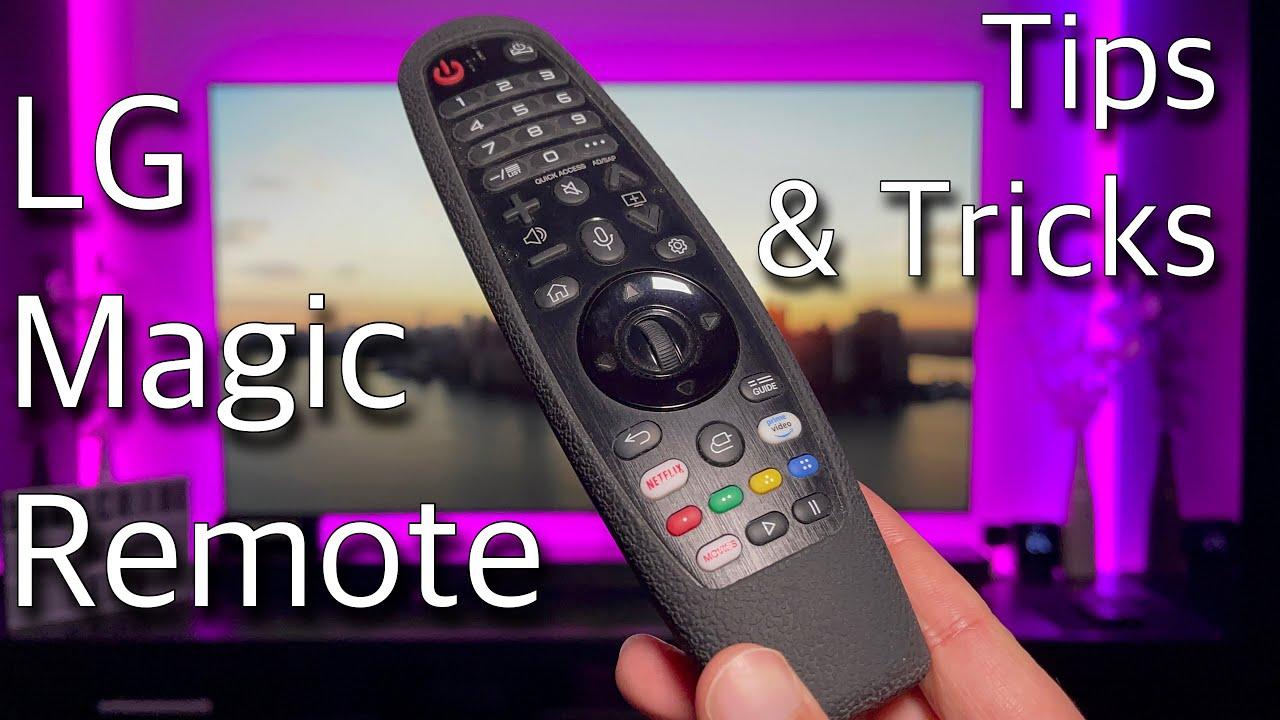 How to use LG Magic Remote - Tips \u0026 Tricks (LG B7/C7/B8/C8/B9/C9/BX/CX/GX) 2021