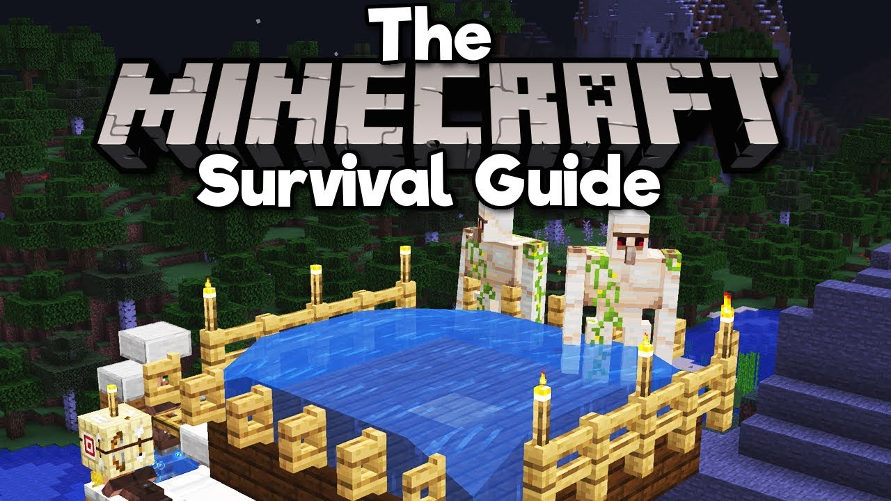 New & Improved Iron Farm! ▫ The Minecraft Survival Guide (Tutorial Lets Play) [Part 188]