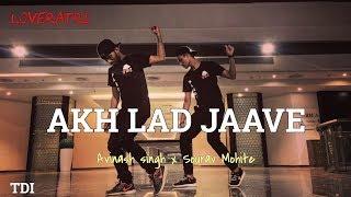 Akh Lad Jaave | Loveratri | Badshah | Avinash Singh Dance choreography X Sourav mohite