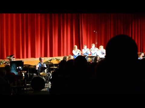 Warren Woods Middle School Jazz Band - A Marshmallow World