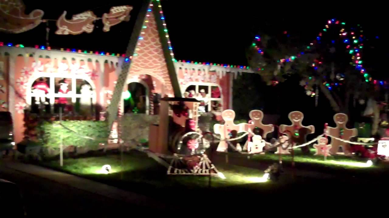 Great Winterhaven Festival Of Lights Tucson Arizona 2011   YouTube
