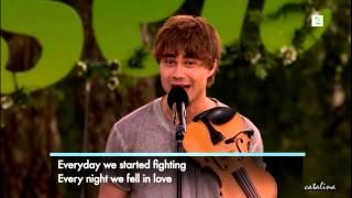 Alexander Rybak - Fairytale - Allsang pa Grensen 7.08.2014