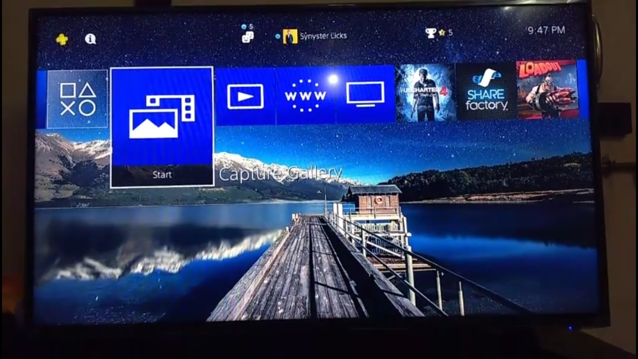 how to change your PS4 wallpaper/background to any image of your choice!!!![2017] - YouTube