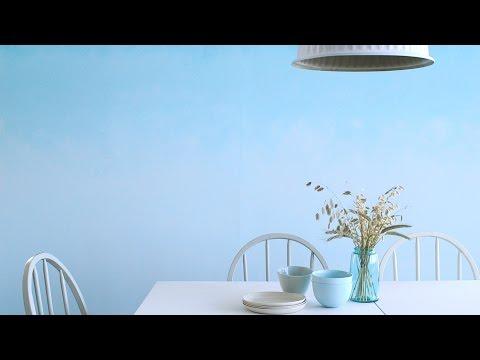 How To Paint An Ombré Wall- Martha Stewart