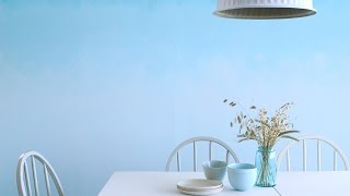 How To Paint An Ombré Wall- Martha Stewart