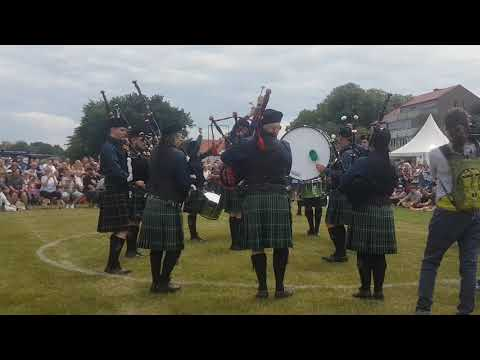 The Owl Town Pipe & Drum Band Grade 4 Competition Xanten 2018