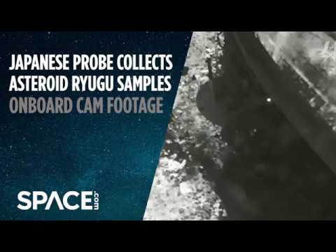 Asteroid Touchdown! Watch Japanese Probe Collect Samples