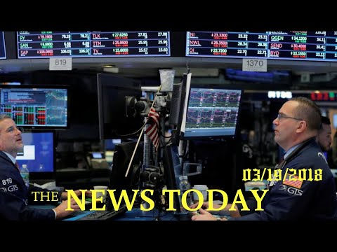 Wall Street Slides As Facebook Data Issue Pounds Tech Sector | News Today | 03/19/2018 | Donald...