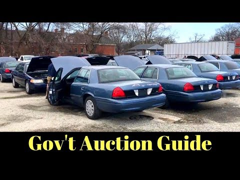 HOW TO FIND and BUY at Government Surplus Auctions Mp3