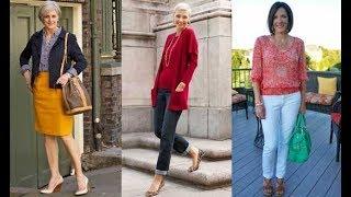 Ropa para señoras 50 a 60 años  a mas | fashion 2018