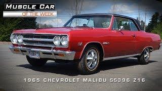 Muscle Car Of The Week Video #4: 1965 Chevrolet Malibu SS 396 Z16