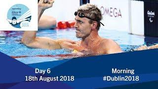 Day 6 Morning | 2018 World Para Swimming Allianz European Championships