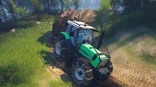 Spin Tires - Deutz-Fahr AgroStar 6.61 Traktör Modu!