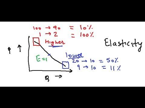 Elastic And Inelastic Demand Video Economics Youtube