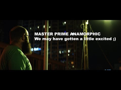 MINDS BLOWN!!!! Master Prime Time - Anamorphic Style with CRFTSHO