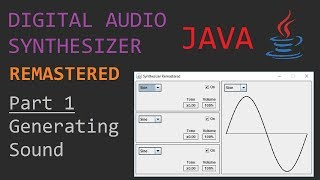 Java - Creating an Audio Synthesizer - Part 1
