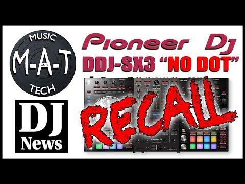 "Pioneer DDJ-SX3 ""No Dot"" Recall - The M-A-T with DJ Michael Joseph"