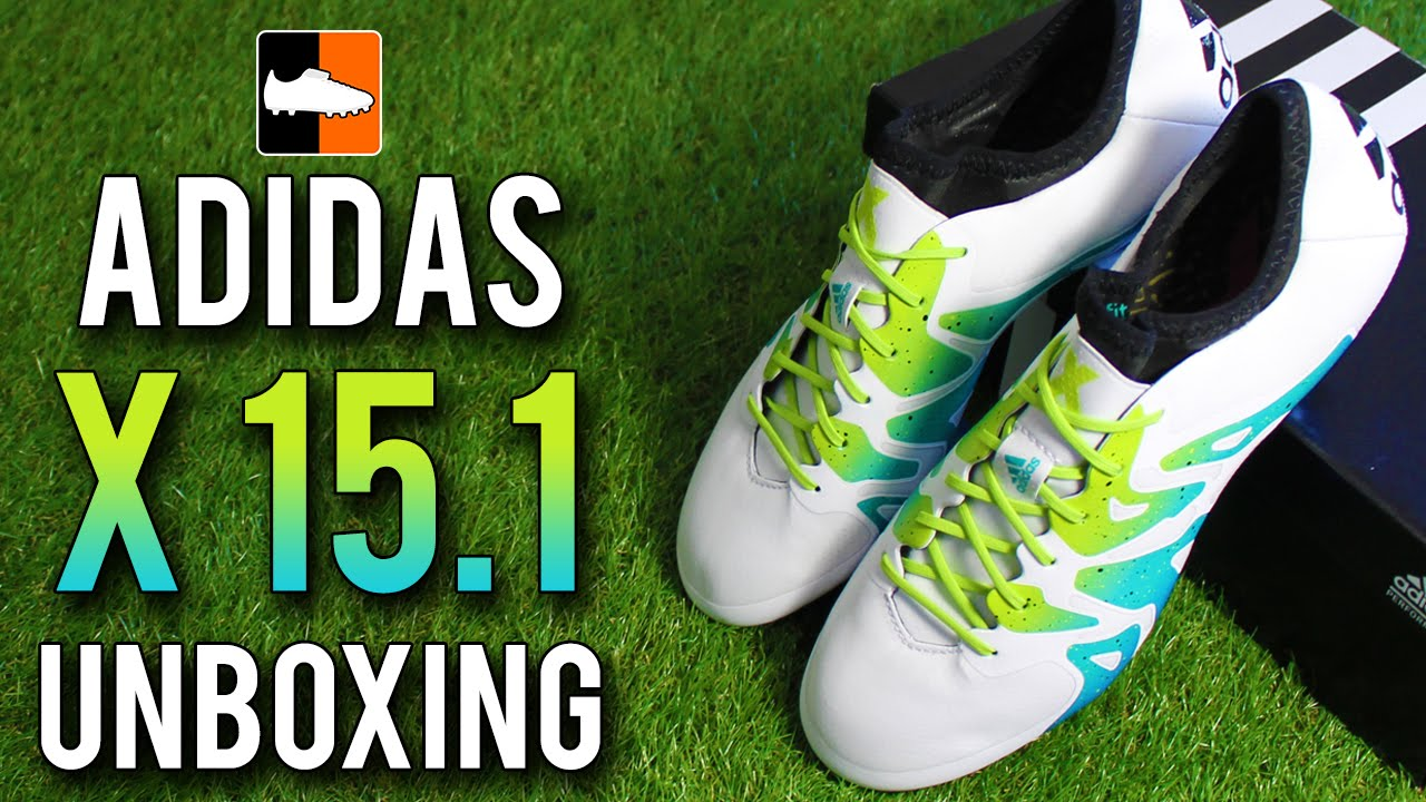 00a33219564 adidas X 15.1 Unboxing