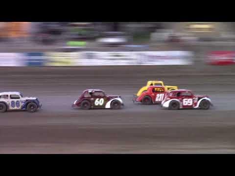 Dacotah Speedway INEX Legends A-Main (8/11/17)
