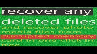 recover deleted files media||photo| recover deleted partation