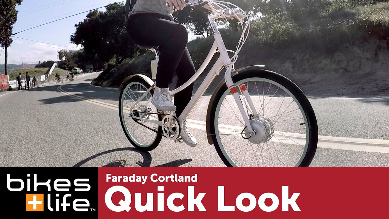 Faraday Cortland Electric Bike Video Review