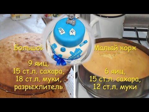 Праздничный Торт на День Рождения ребенку -Бисквит {Рубрика - Торты}