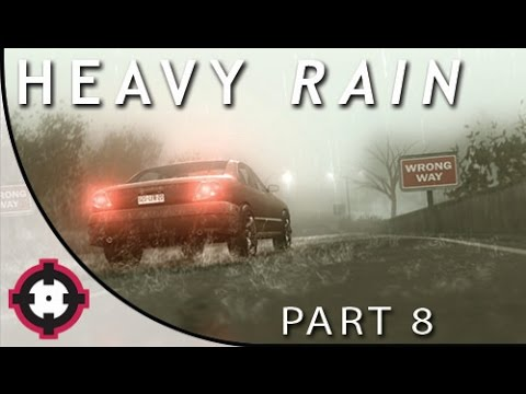 "Heavy Rain Blind Let's Play Gameplay PS4  // Part 8 - Trial #1 ""Courage"" (w/ a Special Guest!)"