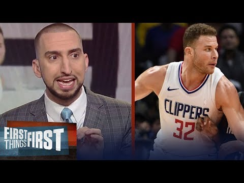 Nick and Cris react to the skirmish in the Clippers' 113-102 win vs the Rockets | FIRST THINGS FIRST
