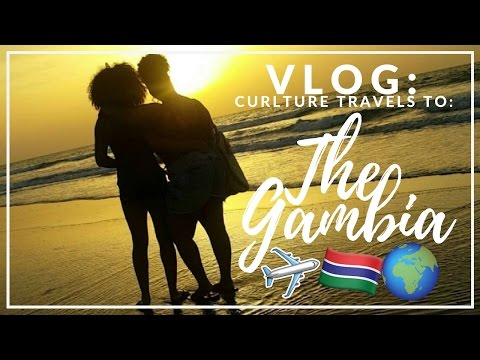 VLOG: Curlture goes to THE GAMBIA! | CURLTUREUK