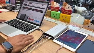 Khui hộp pin dự phòng khổng lồ sạc được cho Macbook: HyperJuice Airline Safe 27.000mAh