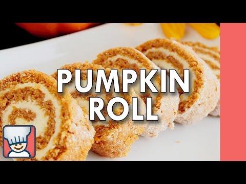 How to make a pumpkin roll