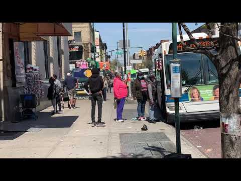 MTA:2009 Orion VII NG #4622 B44 Bus @ Nostrand Ave/Church Ave.