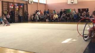 Сдача нормативов по художественной гимнастике 30.05.15