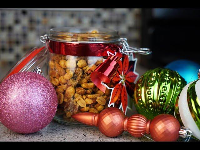 Festive Spiced Nuts | CaribbeanPot.com