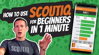 How to use ScoutIQ for beginners in 1 minute