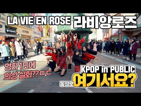 [여기서요?] 아이즈원 IZ*ONE - 라비앙로즈 LA VIE EN ROSE | 커버댄스 DANCE COVER | KPOP IN PUBLIC @동성로