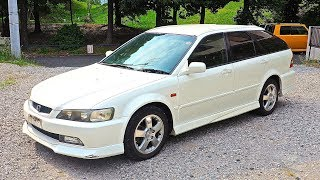 2000 JDM Honda Accord Wagon SIR (Canada Import) Japan Auction Purchase Review