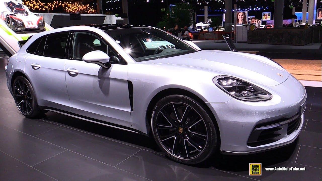2018 Porsche Panamera 4 Sport Turismo Exterior And