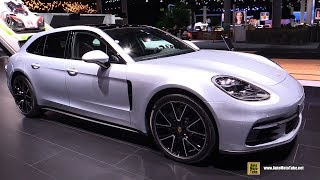2018 Porsche Panamera 4 Sport Turismo - Exterior and Interior Walkaround - 2017 Frankfurt Auto Show