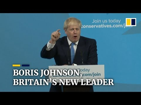 Boris Johnson is the UK's new prime minister