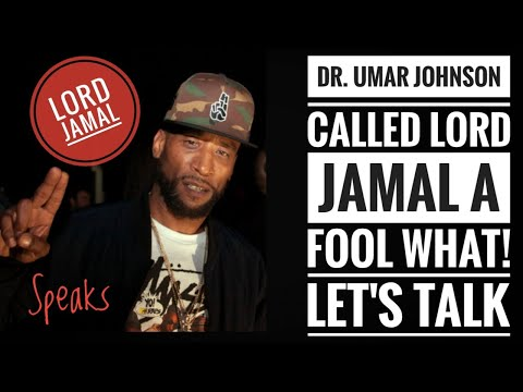 LORD JAMAR  Responds To UMAR JOHNSON In A Clapback Here's The Truth