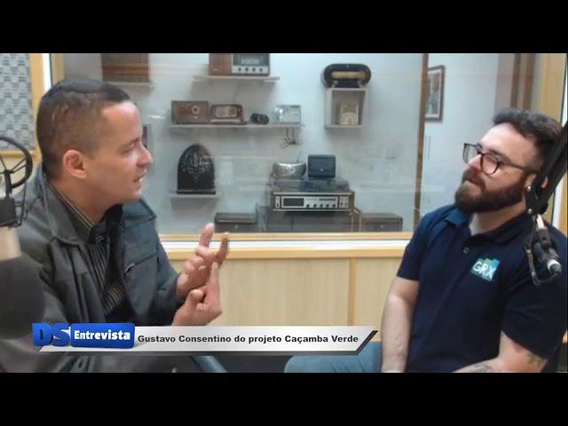 DS entrevista o Gustavo Consentino do projeto Caçamba Verde