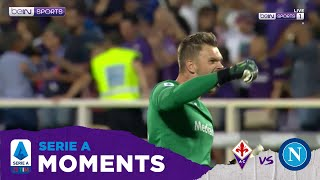 Serie A 19/20 Moments: All Goalkeeper Saves Fiorentina vs Napoli